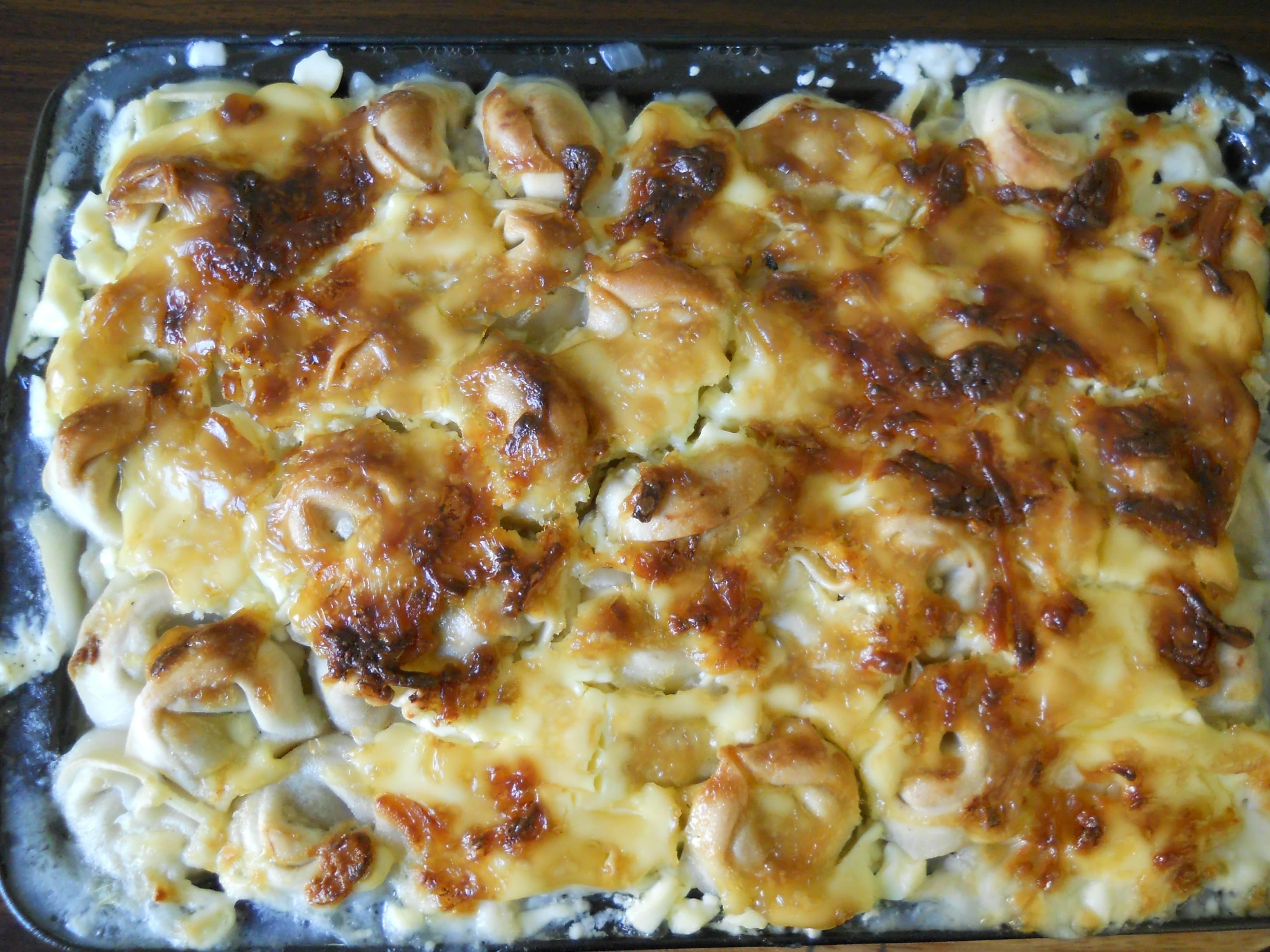 Пельмени с яйцом и сыром в духовке рецепт пошагово