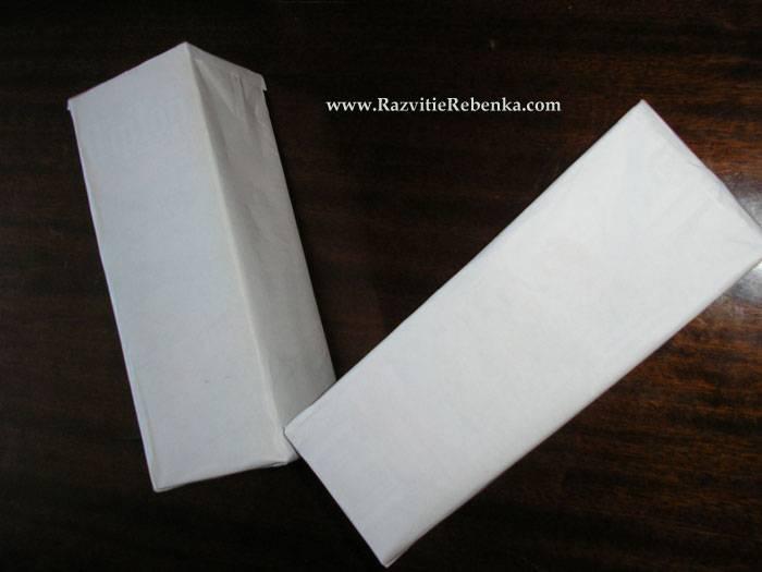 4 Сентября 2011 в 22:06.  Какие поделки можно сделать из коробок от сока?